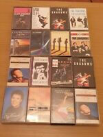 16 x The Shadows Hank Marvin Cliff Richard  cassette tapes