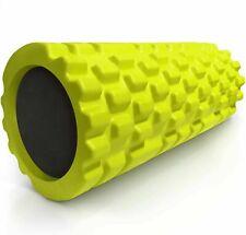 321 STRONG Foam Roller Medium Density Deep Tissue Massager Muscle ~ Green