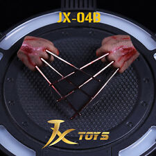 HOT FIGURE TOYS jxtoys 1/6 Wolverine's paw model Blood edition