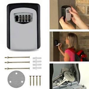 Schlüsselbox 4er Zahlenschloss Schlüsselsafe Schlüsselkasten Garage Key Tresor