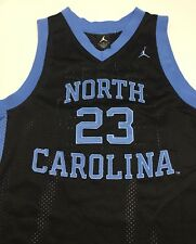 fd09004cd5b584 Youth Nike UNC Tar Heels Michael Jordan Jordan Brand  23 Black Size Medium