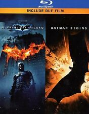 BATMAN BEGINS - IL CAVALIERE OSCURO COFANETTO BLUE-RAY