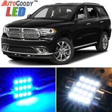 16 x Premium Blue LED Lights Interior Package for Dodge Durango 2011-2017 + Tool