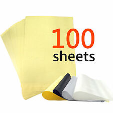 """100 Sheets 4-ply 8.5"""" x 11""""  Tattoo Carbon Thermal Stencil Transfer Paper"""