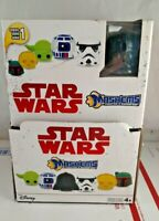 EMPTY Mash'Ems Star Wars Series 1 Display Box Case Mashems Fashems w Darth Vader