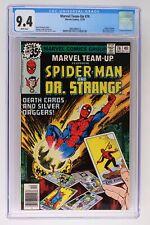 Marvel Team-Up #76 - Marvel 1978 CGC 9.4 Doctor Strange. Ms. Marvel, Clea and Wo