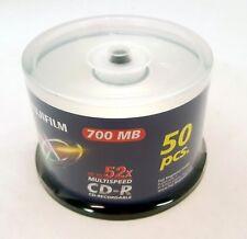 FUJIFILM Campana CD-R 52 X Multispeed 700 MB - Confezione da 50