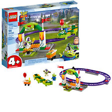 LEGO Toy Story 4 Carnival Thrill Coaster Building Toy (10771, 98 Pcs)