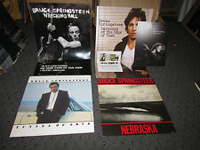 4 X Brice Springsteen - 12 X 12 Promo Flat Lot Collection
