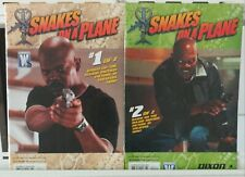 Snakes on a Plane Photo Cover 1,2 Complete Set Series Run Lot 1-2 VF