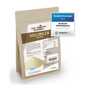 Vollmilchpulver 1000g Milchpulver sprühgetrocknet Pulver (12,95 EUR/kg)