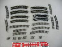 AM79-0,5# 47x Minitrix Spur N/DC Gleisstück: 4912+4922+4916+4917 etc, TOP