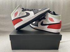 Nike Air Jordan 1 Mid SE Union Black Toe UK 12 US 13 EU 47.5