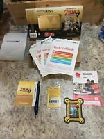 Legend of Zelda Nintendo 3DS XL LE BOX + INSERTS + BONUS PROMO ITEM | NO CONSOLE