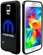Cell Phone Case Cover Skin for Samsung Galaxy S5 MOPAR Logo Black Blue White