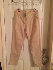 *VGC* NEW LOOK Beige Thin Summer Chino Trousers UK Size 8