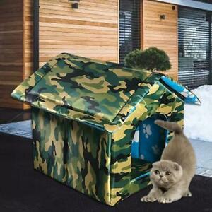 Waterproof Outdoor Pet House Thickened Cat Nest Tent Cabin Pet Bed Tent Kennel