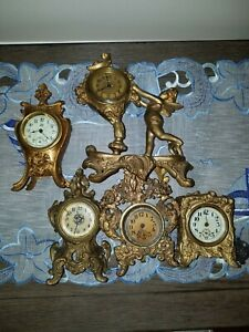 gilt clock