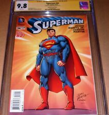 Superman #34 1:100 Retailer Variant CGC SS 9.8 SIGNED John Romita Sr DC 2014
