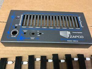ZAPCO PEQ  18 band equalizer restoration service please read!!!