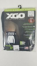 XGO Men's Size L Super Midweight Stretch Phase 3 Long Sleeve Tactical Shirt NWT