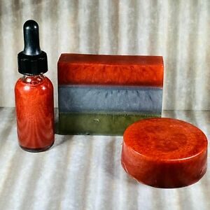 FLANNEL Loaf Soap, Loofah Soap, Bath, Body, Shower Oil, Fall Unisex Strong Scent