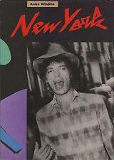 KEIZO KITAJIMA NEW YORK 1982 Japan 1st. edition