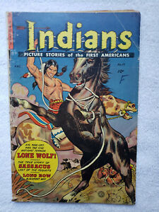 Indians #17 (Spring 53, Fiction House) [VG 4.0]