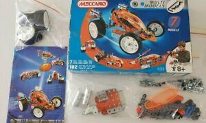 MECCANO KIT #4505 MAKES 7 MODELS COMPLETE