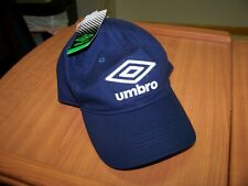 NWT Umbro Navy Blue Hat Cap - Adj Strap