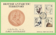 Brunei 1985 Early Naturalist set on First Day Cover