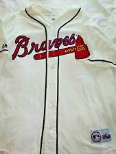 Atlanta Braves Jersey Unnamed MLB Genuine Merchandise Majestic Baseball