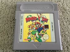 Mario & Yoshi  Nintendo Game Boy GENUINE PAL Cartridge