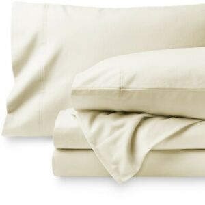 100% Cotton Velvet Flannel Sheet Set - Extra Soft Heavyweight - Double Brushed