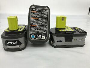 Ryobi [3 PACK]  P108 Battery 18 Volt One+ HighPre Capacity 4Ah Li-ion VG