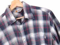 JY3143 Carhartt Hemd Kurzarm Arbeitskleidung Kariert Original Premium Größe M