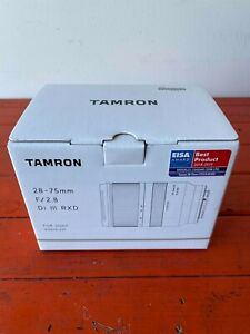 Tamron AF 28-75mm f/2.8 Di III RXD Lens for Sony Mirrorless A7 A7R A9 A1