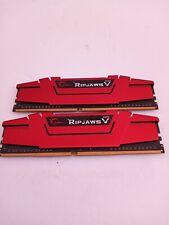 G.Skill Ripjaws V Series DDR4  PC4 16gb (8x2) Used