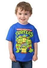 Toddler Tmnt Teenage Mutant Ninja Turtles group shot t shirt tee 2T