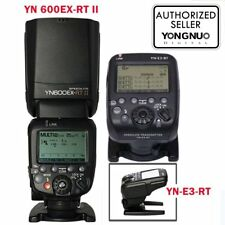 Yongnuo YN-E3-RT Transmitter + YN 600EX-RT II TTL Speedlite Flash For Canon