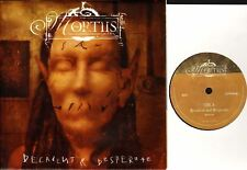 """MORTIIS decadent & desperate (numbered limited edition in poster bag) 7"""" EX+/EX+"""