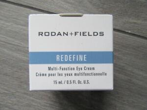 RODAN+FIELDS REDEFINE MULTI-FUNCTION EYE CREAM, NIB, 15 ML/.5 FL OZ