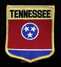 TENNESSEE STATE FLAG SHIELD PATCH TN TITANS THREE STARS PIN UP US GIFT WOW