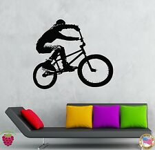 Wall Stickers Vinyl Decal Bike Biker Extreme Sport Street Youth Teens (z1969)