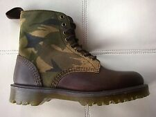 DOC DR.MARTENS WILDER CAMO CAMOUFLAGE SUEDE BOOTS RARE NEW UNISEX 6UK US: W8 M7