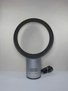 Dyson AM01 Air Multiplier 12-Inch Table Fan in Silver/Iron - FOR PARTS OR REPAIR