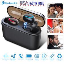 Mini Wireless Earbuds Sport True Bass Twins Headset In Ear Earphone USA