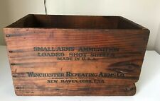 Vintage Winchester Super Speed Staynless 12 Ga Ammunition Ammo Wooden Box Rare