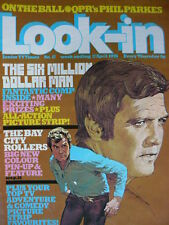 LOOK-IN MAGAZINE 17TH APRIL 1976 - BAY CITY ROLLERS POSTER!!