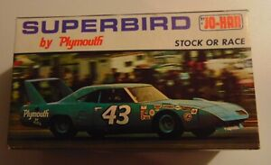 VINTAGE JO-HAN SUPERBIRD BY PLYMOUTH BUILD STOCK OR RACE, MODEL KIT #GC-1470